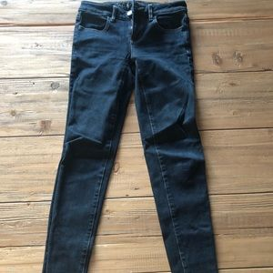 American Eagle, skinny stretch low rise jeans